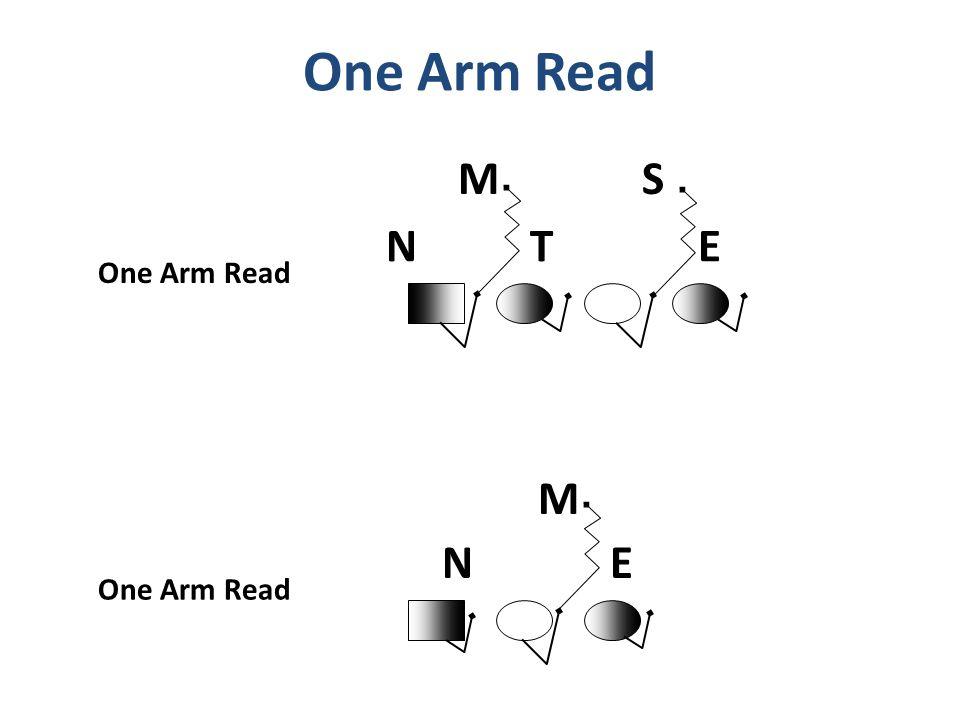 One Arm Read M S N T E One Arm Read M N E One Arm Read