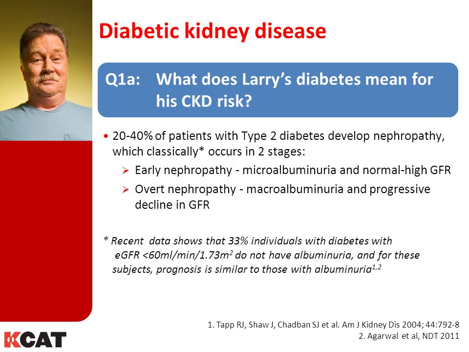 Diabetic kidney disease