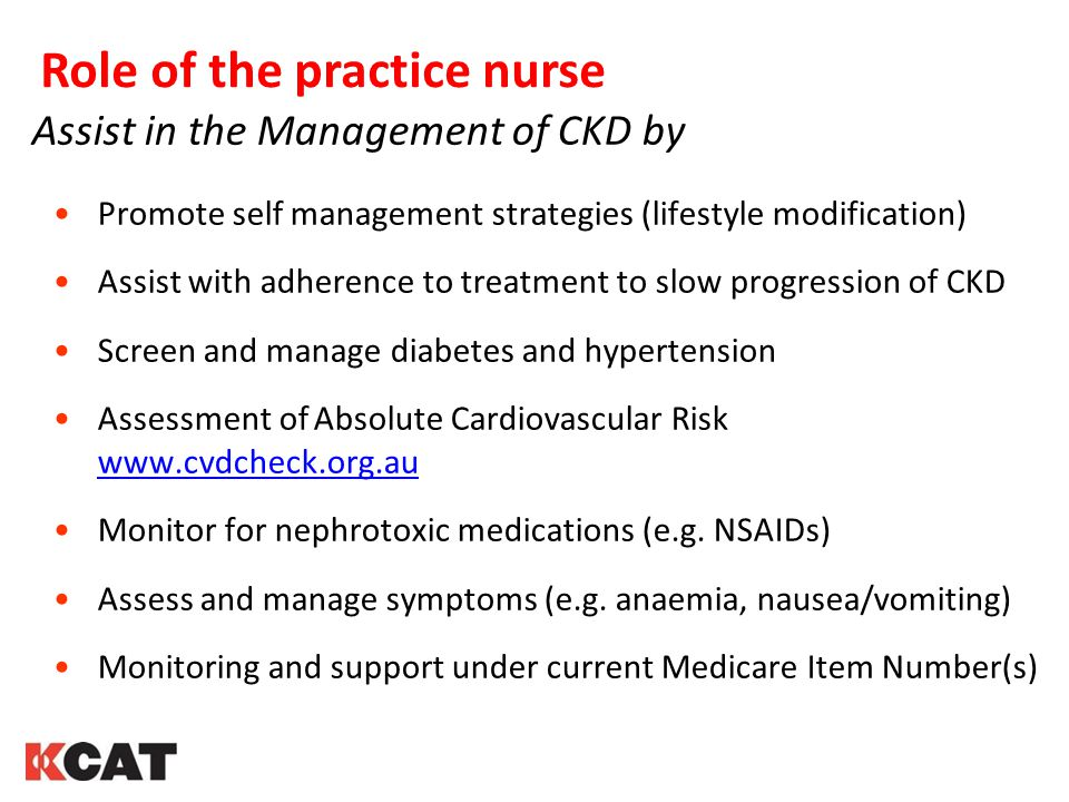 Role of the practice nurse