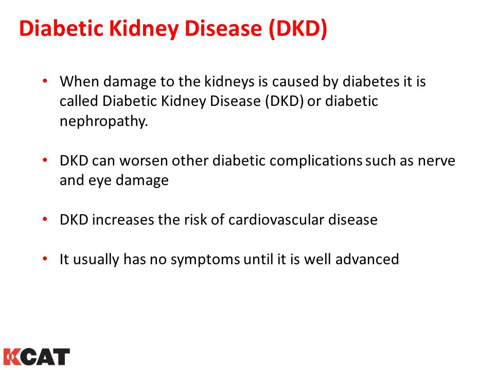 Diabetic Kidney Disease (DKD)