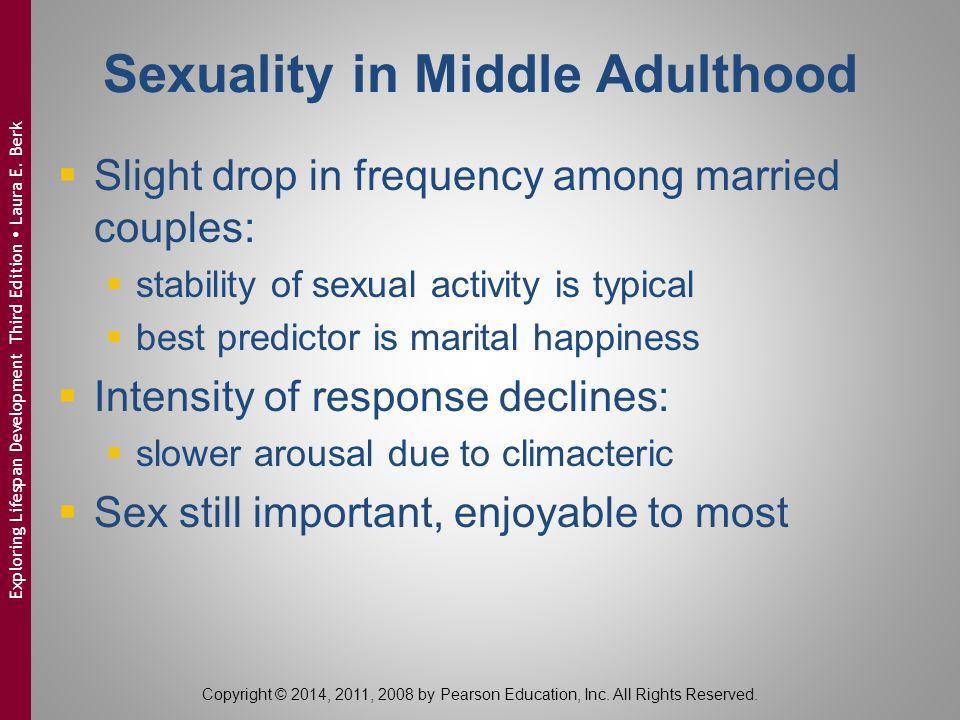 Sexuality in Middle Adulthood