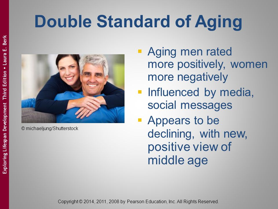 Double Standard of Aging