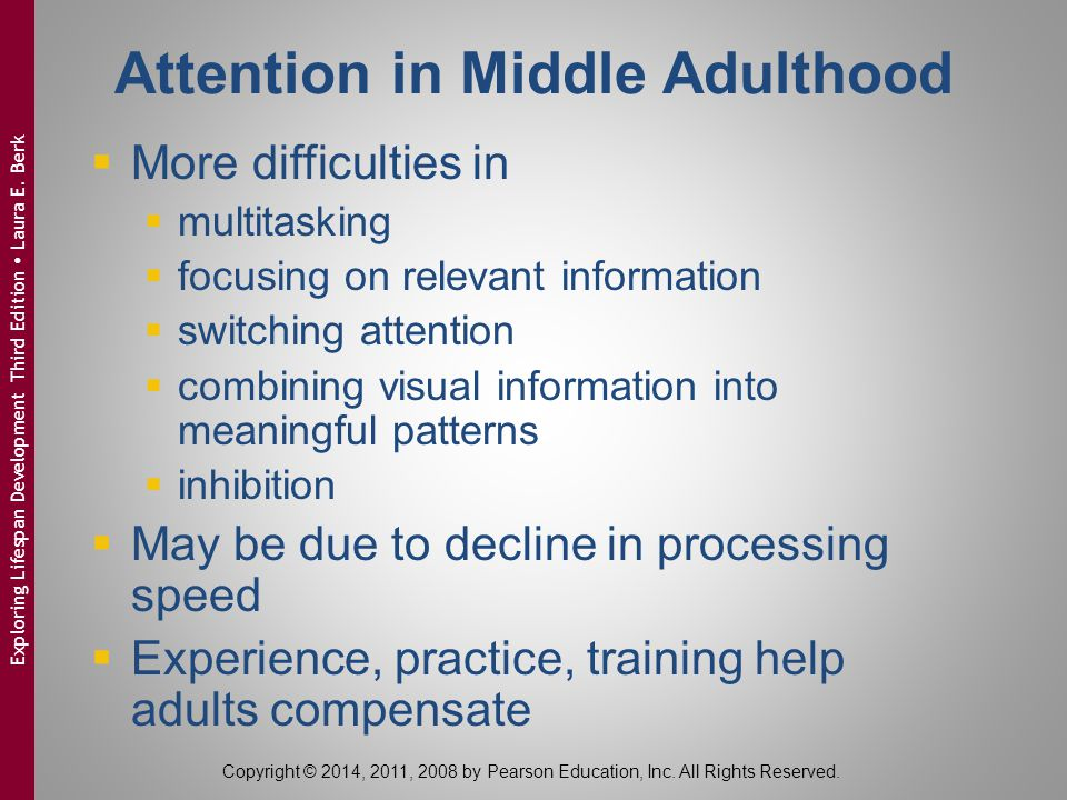 Attention in Middle Adulthood