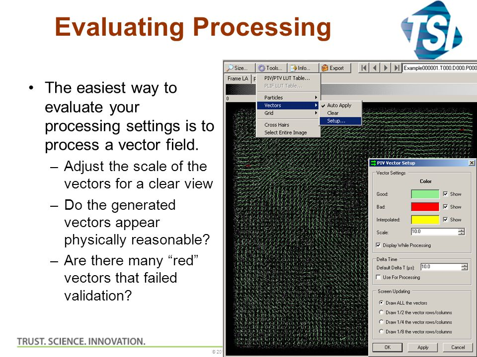 Evaluating Processing