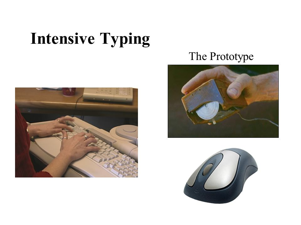 Intensive Typing The Prototype