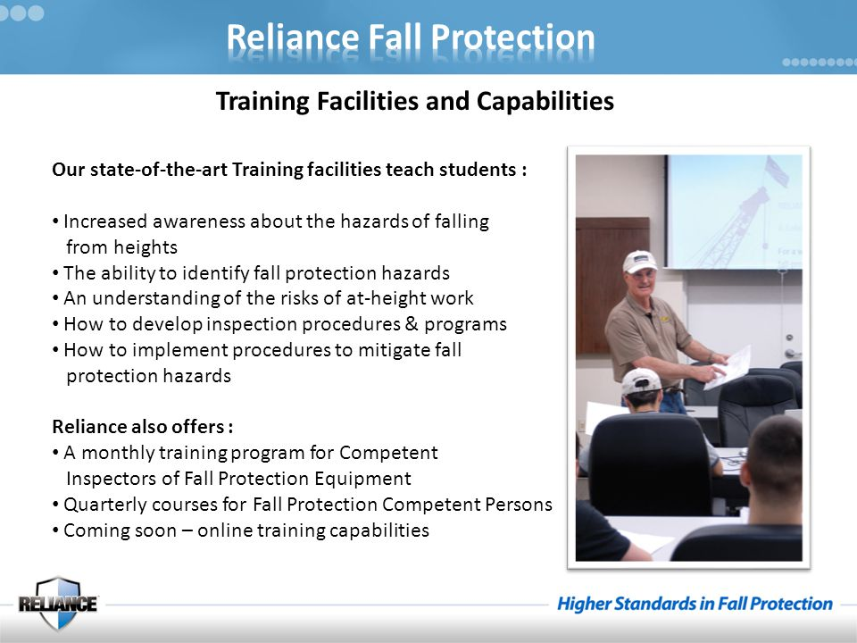 Training Facilities and Capabilities
