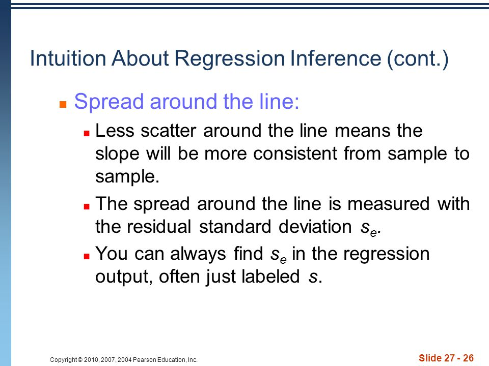 Intuition About Regression Inference (cont.)