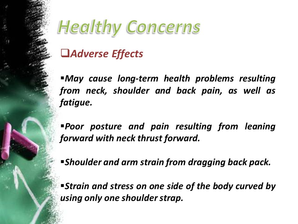 Healthy Concerns Adverse Effects
