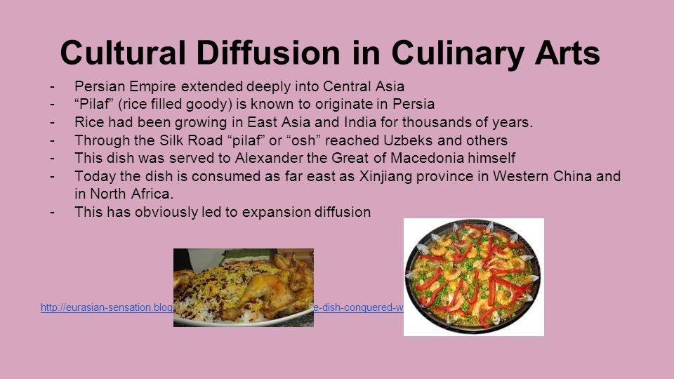 Cultural Diffusion in Culinary Arts