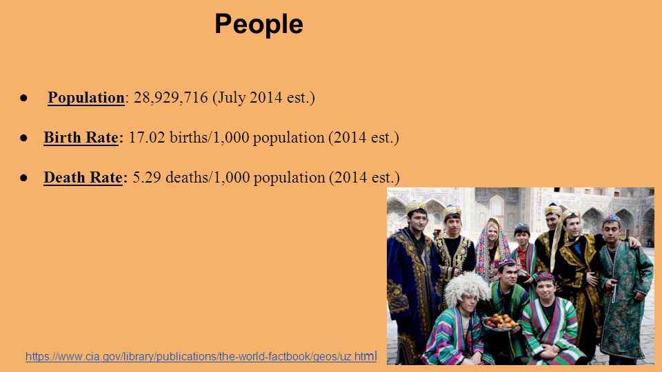 People Population: 28,929,716 (July 2014 est.)