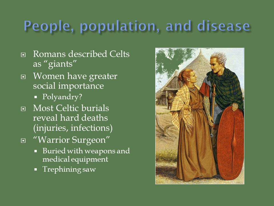 People, population, and disease