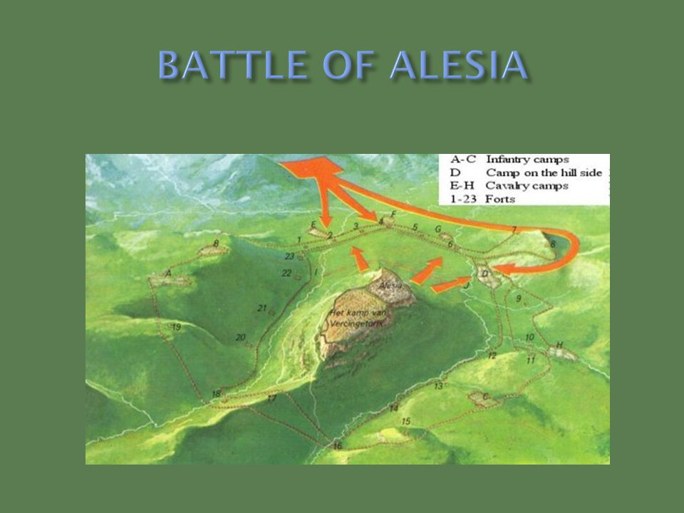 BATTLE OF ALESIA