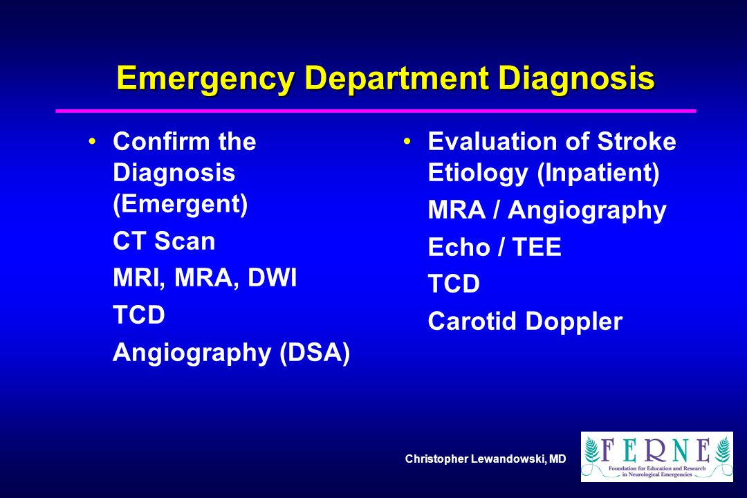 Emergency Department Diagnosis