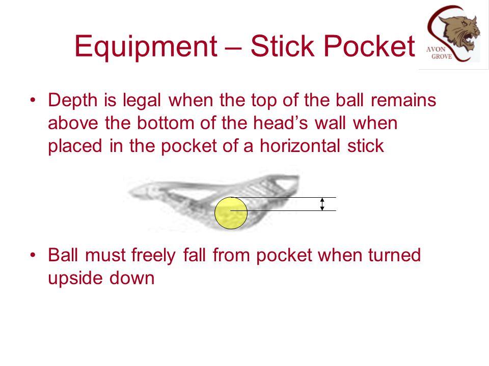 Equipment – Stick Pocket