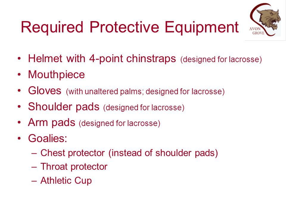 Required Protective Equipment