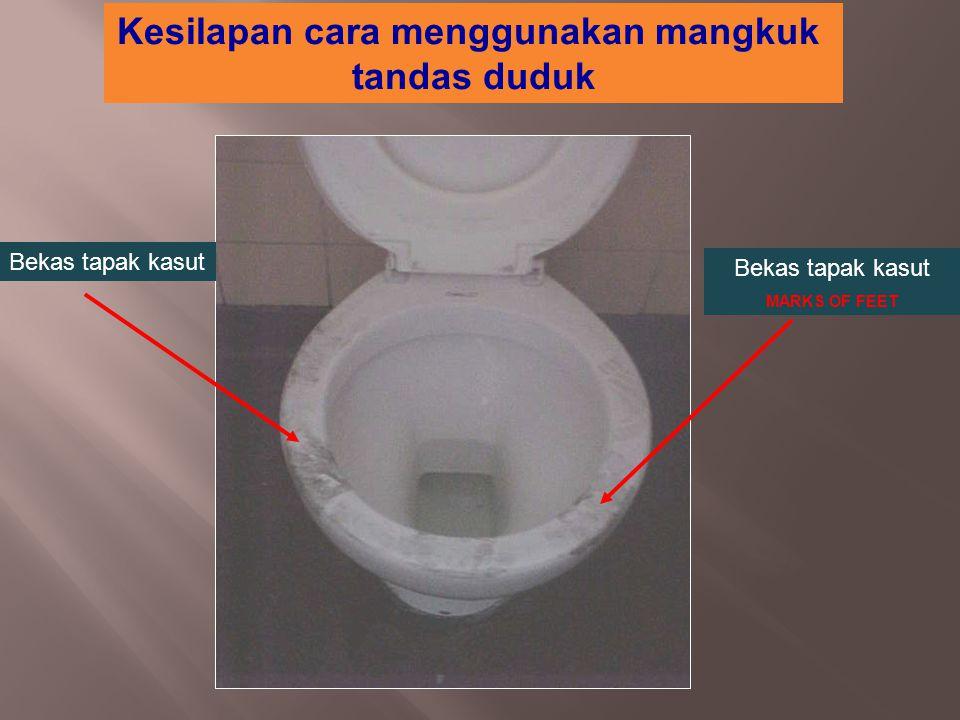 Kesilapan cara menggunakan mangkuk