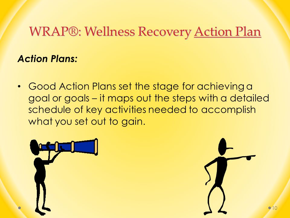 WRAP®: Wellness Recovery Action Plan