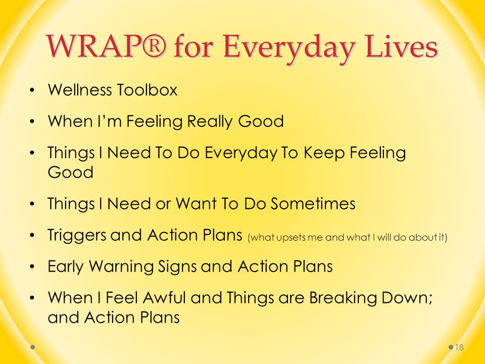 WRAP® for Everyday Lives