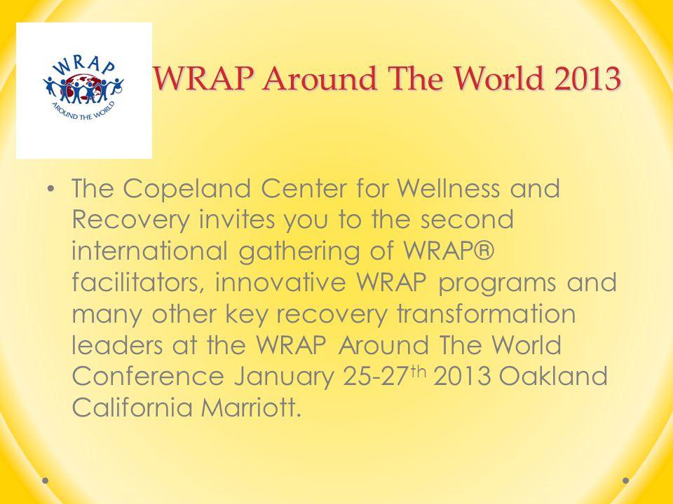 WRAP Around The World 2013