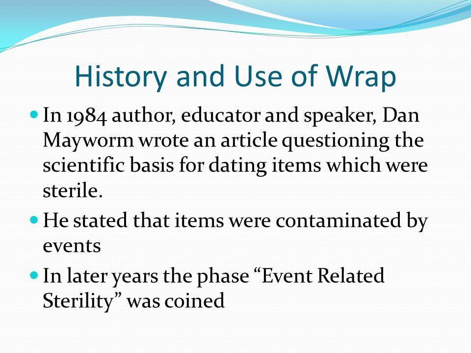 History and Use of Wrap