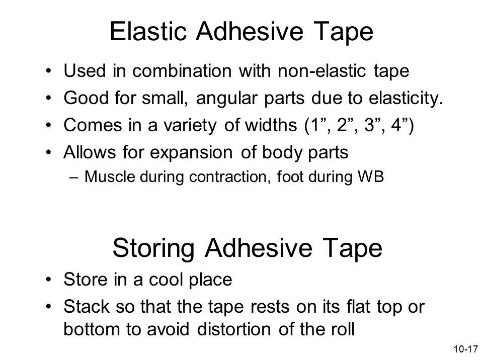 Elastic Adhesive Tape Storing Adhesive Tape