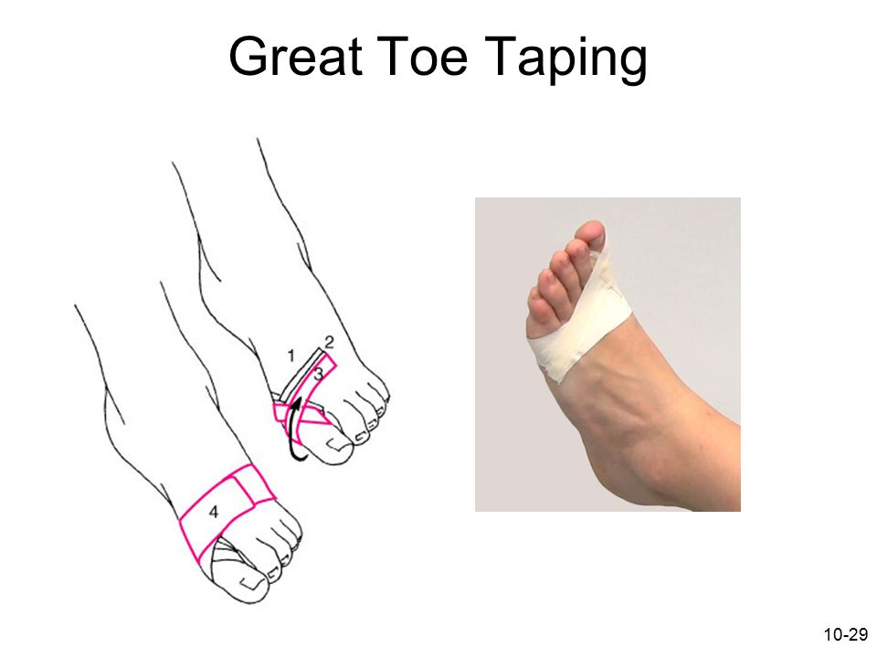 Great Toe Taping