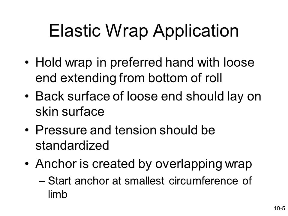 Elastic Wrap Application