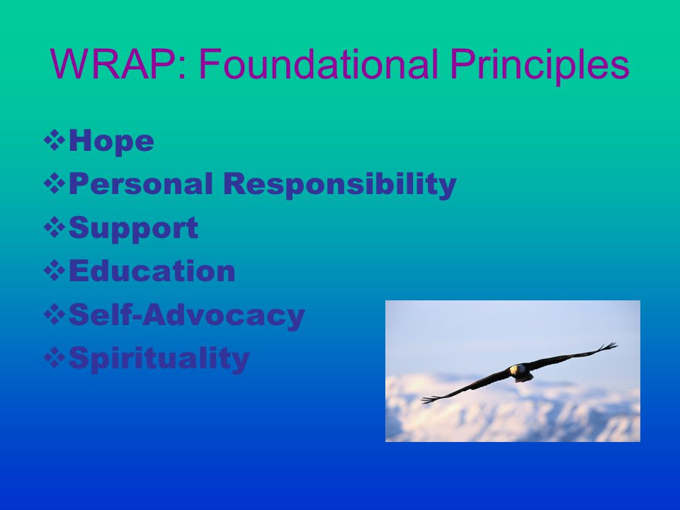 WRAP: Foundational Principles