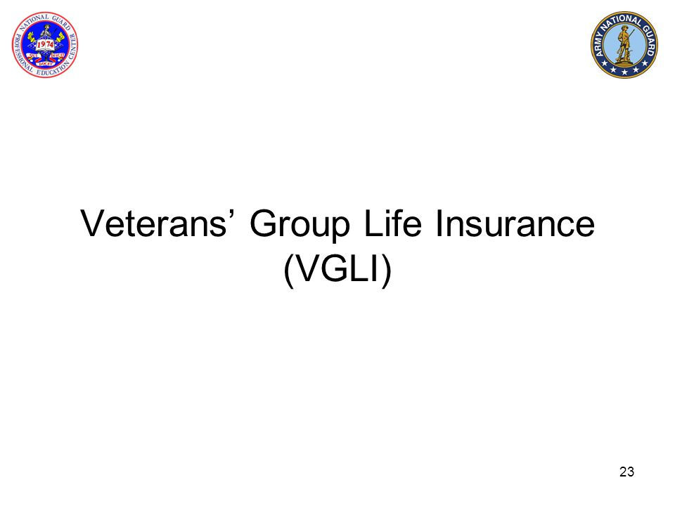 Veterans' Group Life Insurance (VGLI)