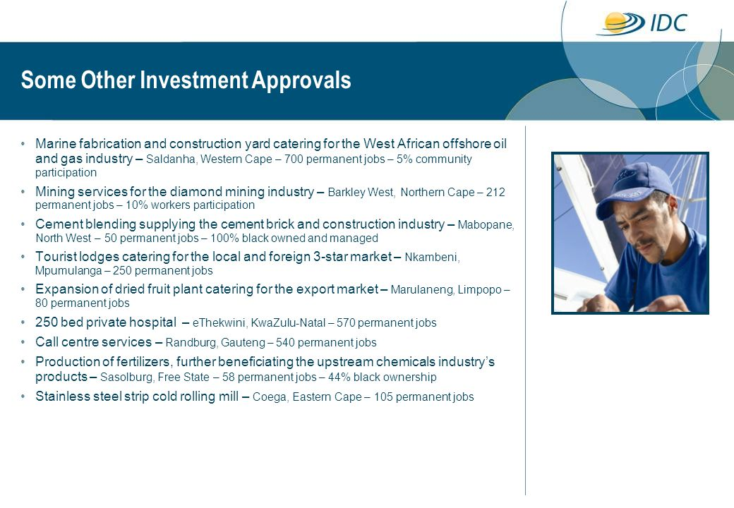 Some Other Investment Approvals