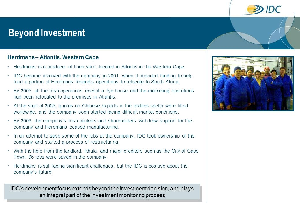 Beyond Investment Herdmans – Atlantis, Western Cape