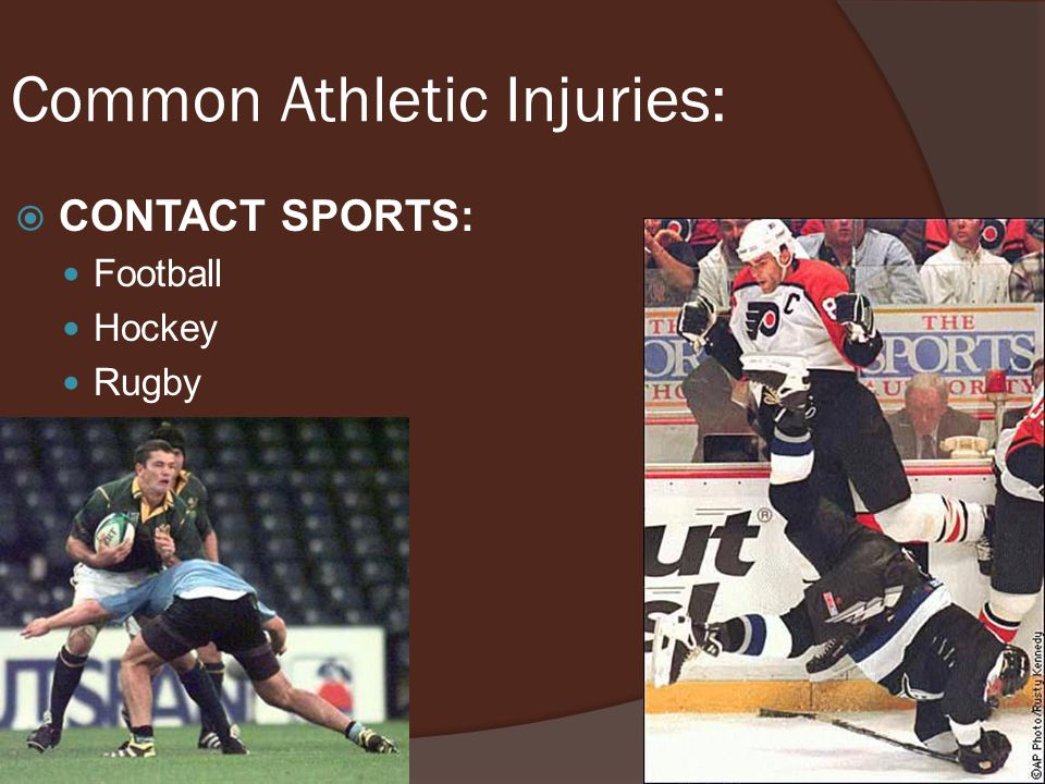Common Athletic Injuries: