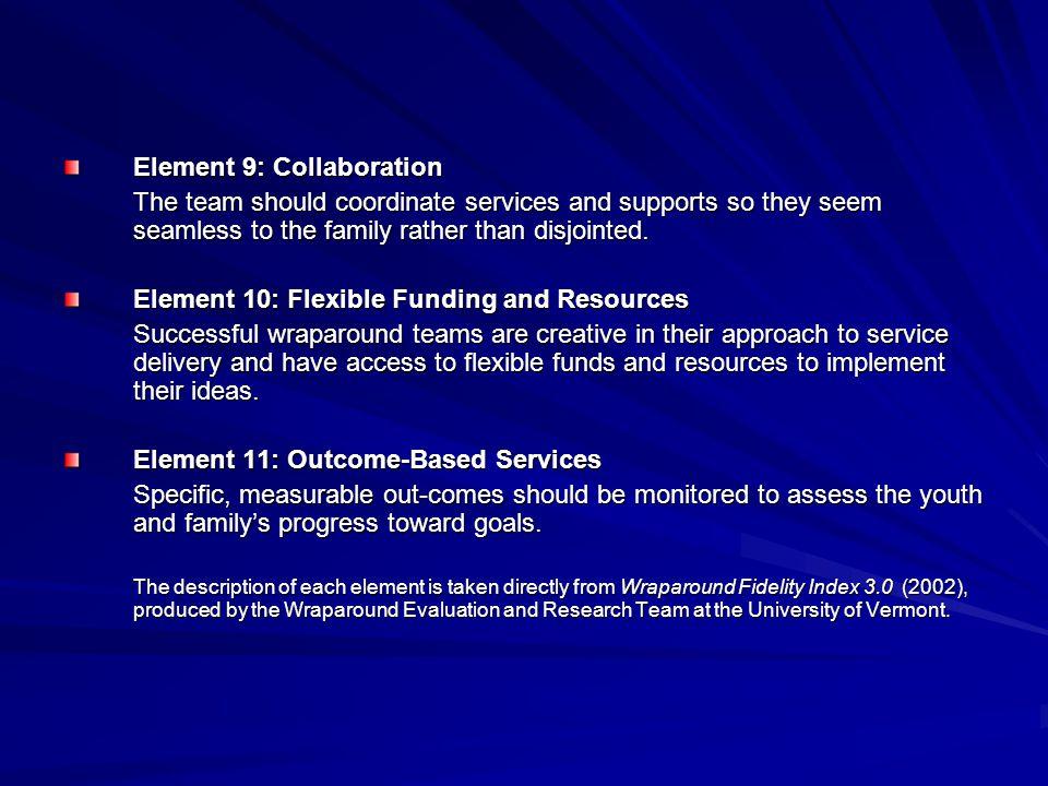 Element 9: Collaboration
