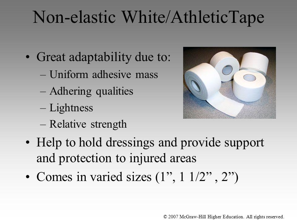 Non-elastic White/AthleticTape