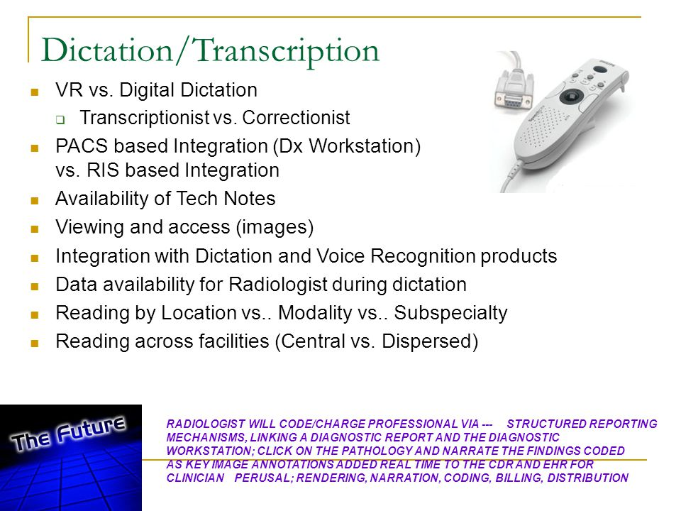 Dictation/Transcription