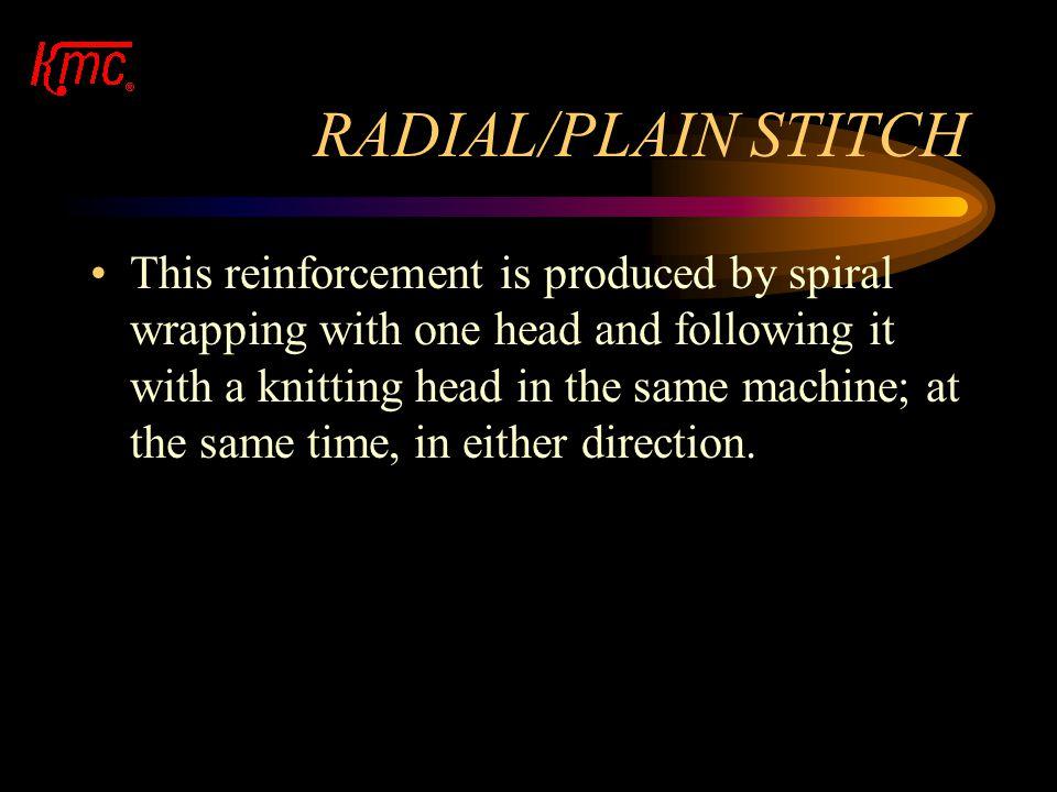 RADIAL/PLAIN STITCH