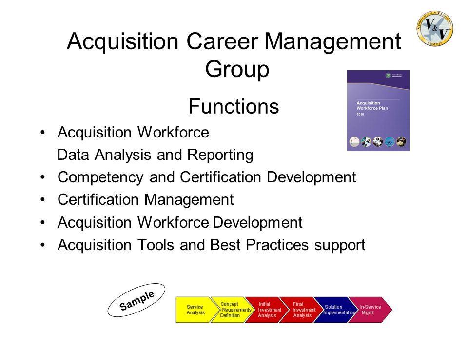 Acquisition Career Management Group Functions