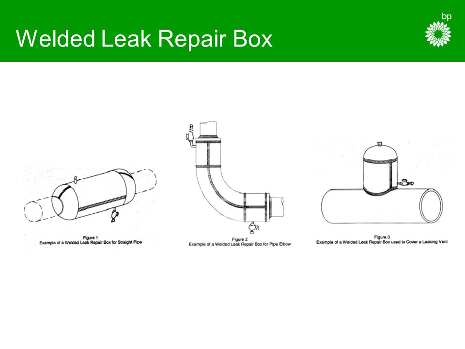 Welded Leak Repair Box