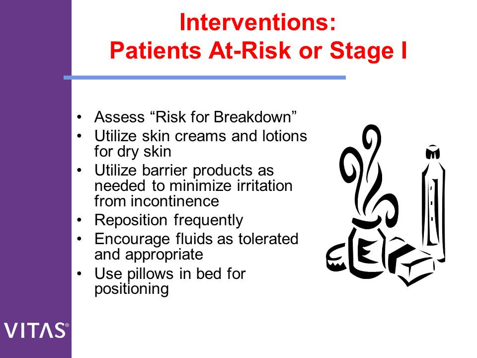 Interventions: Patients At-Risk or Stage I