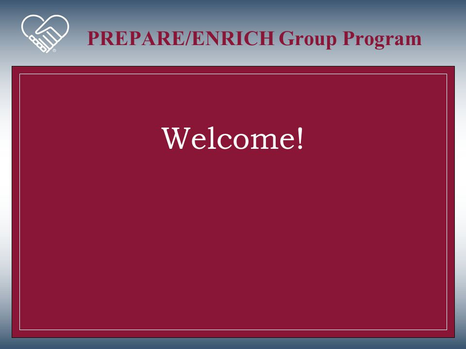 PREPARE/ENRICH Group Program