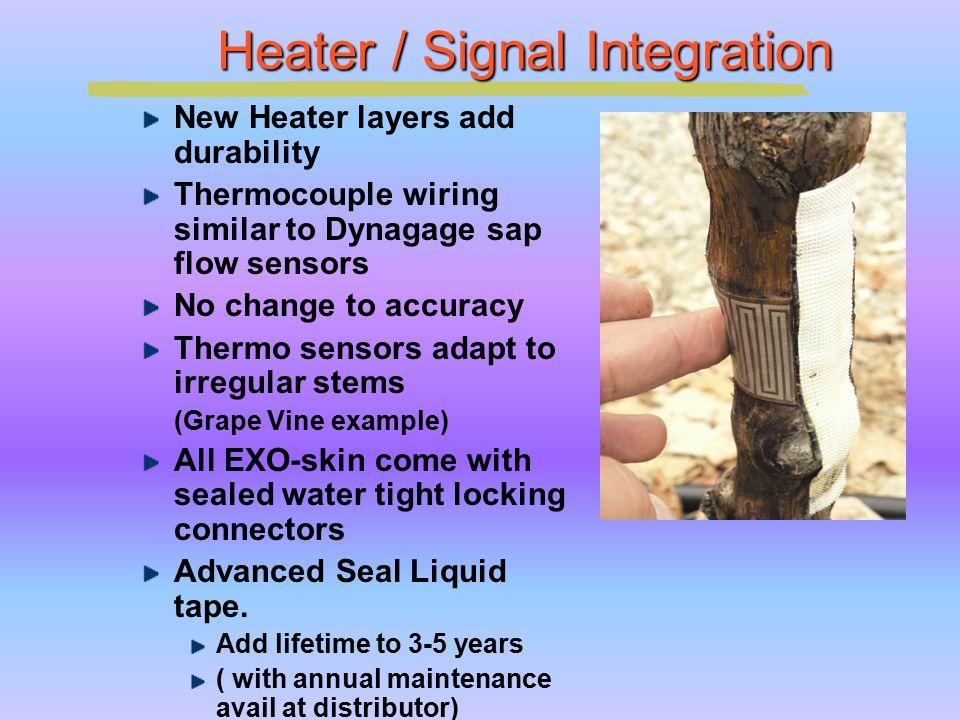 Heater / Signal Integration