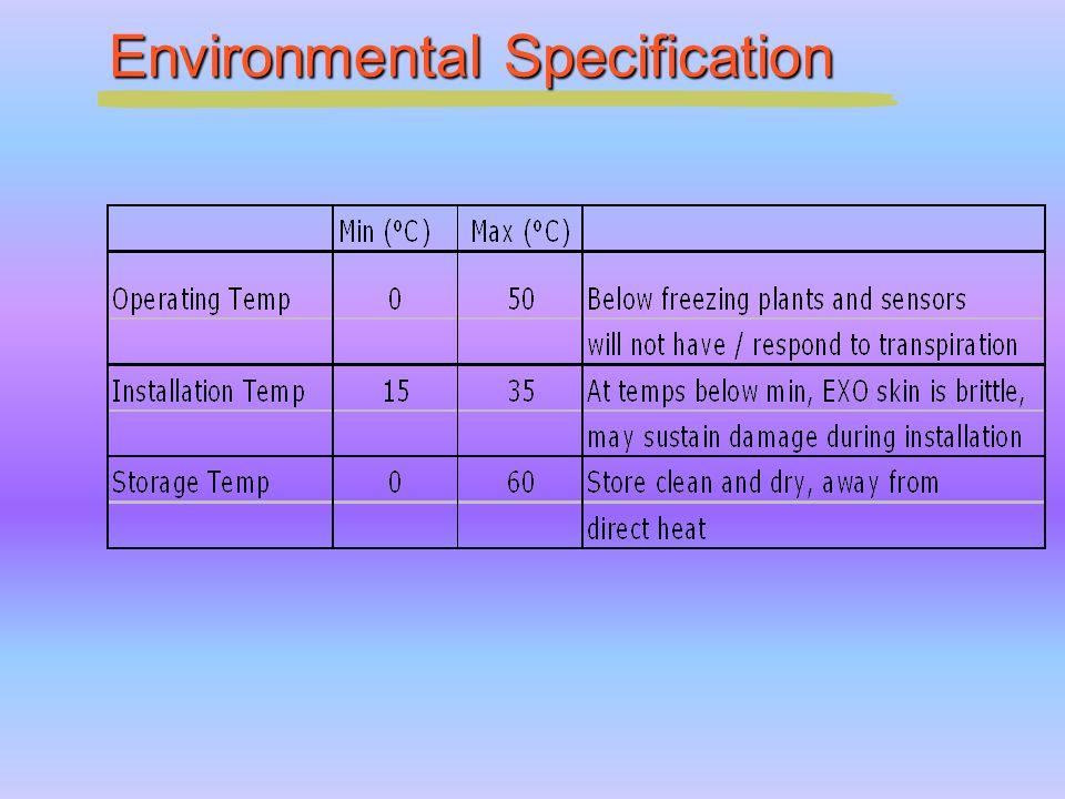 Environmental Specification