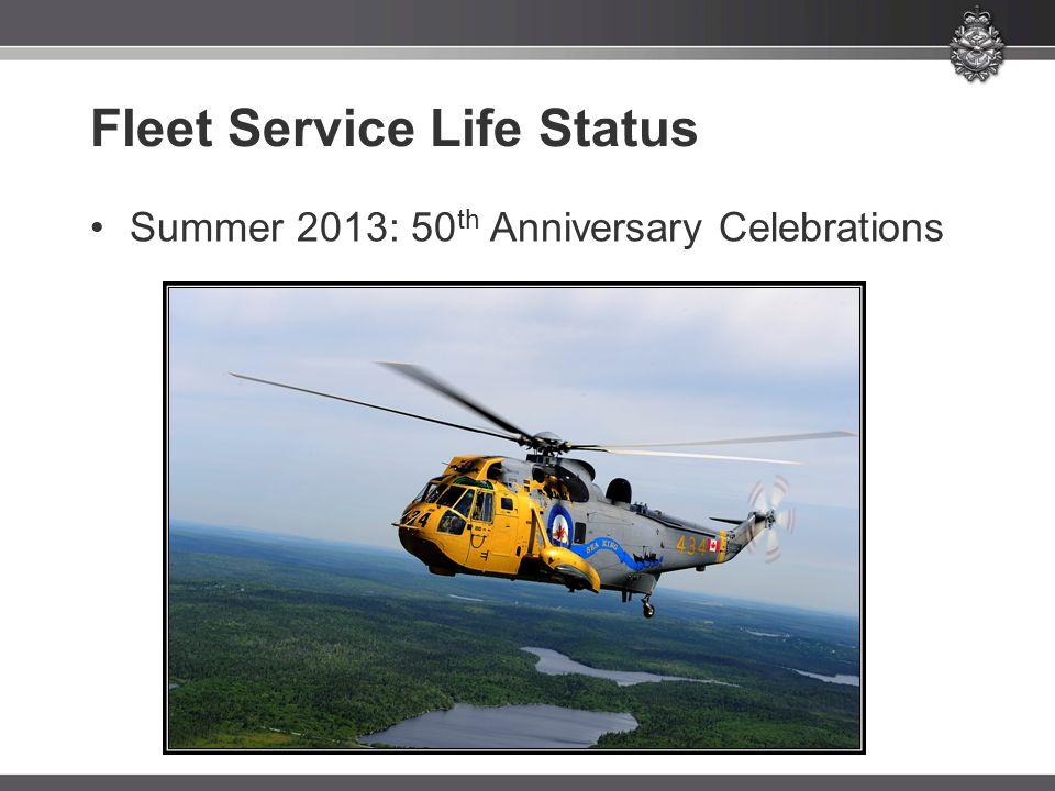 Fleet Service Life Status