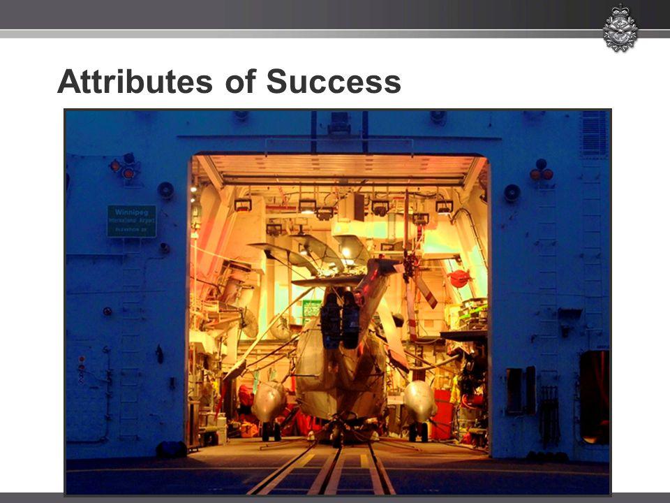 Attributes of Success