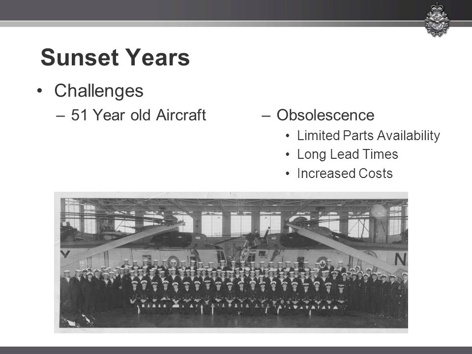 Sunset Years Challenges 51 Year old Aircraft Obsolescence