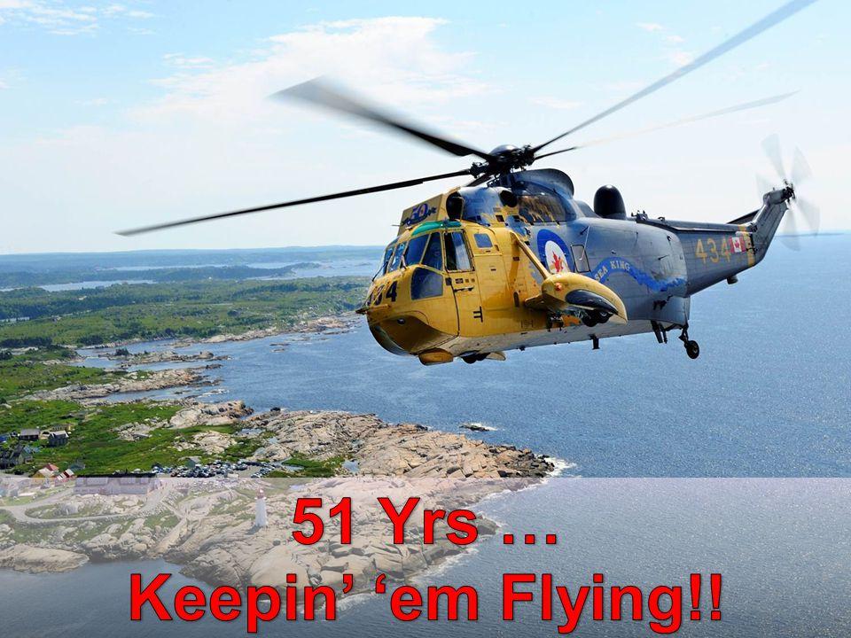 51 Yrs … Keepin' 'em Flying!!