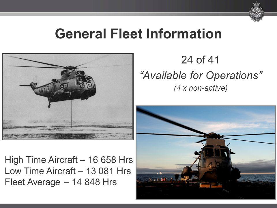 General Fleet Information