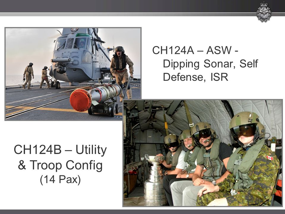 CH124B – Utility & Troop Config (14 Pax)
