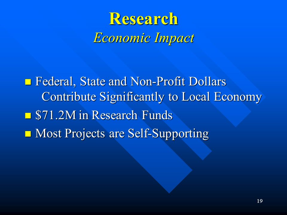 Research Economic Impact
