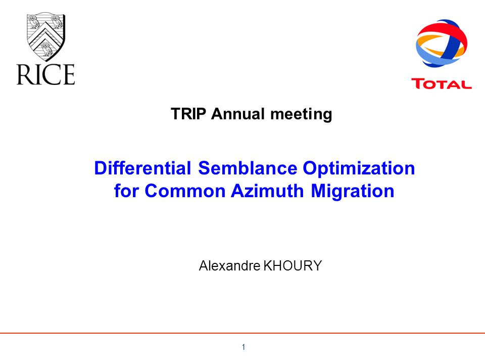 Differential Semblance Optimization for Common Azimuth Migration
